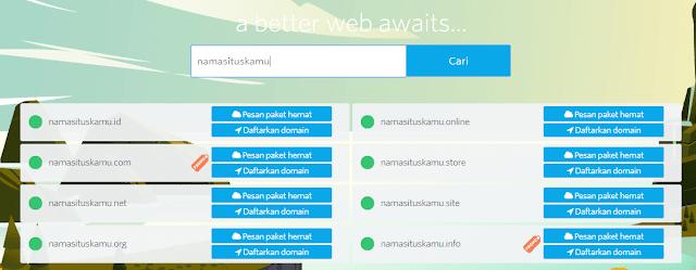 Paket Hemat Hosting Gratis Domain