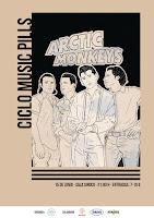Arctic Monkeys Music Pill en Siroco