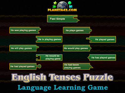 English Tenses Puzzle