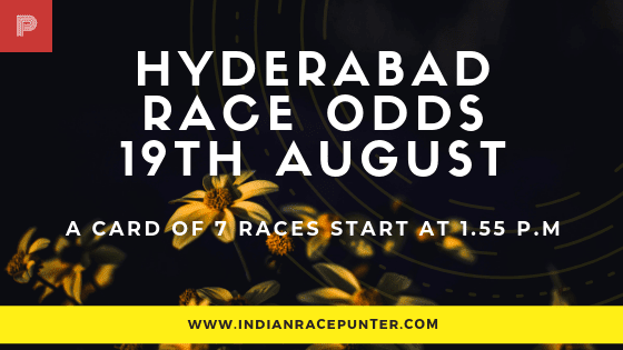 Hyderabad Race Odds 19 August