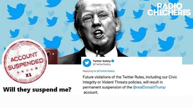 Twitter ha suspendido la cuenta de Donald Trump