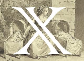 Lettrine X
