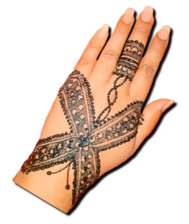 Cross Back Hand Stylish Design
