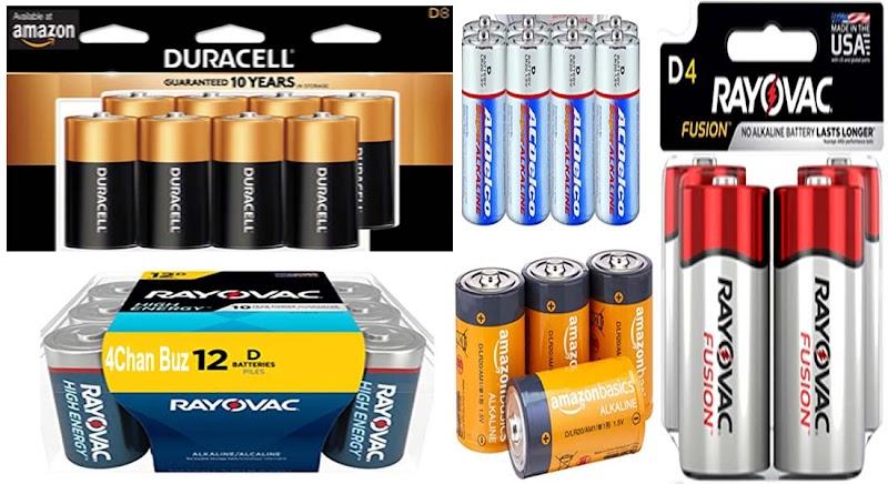 Longest Lasting D Batteries Reviews