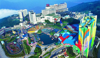 GENTING HIGHLANDS - 3D2N MALAYSIA TOUR LEBARAN SEASON 2016 (Seat In Couch)