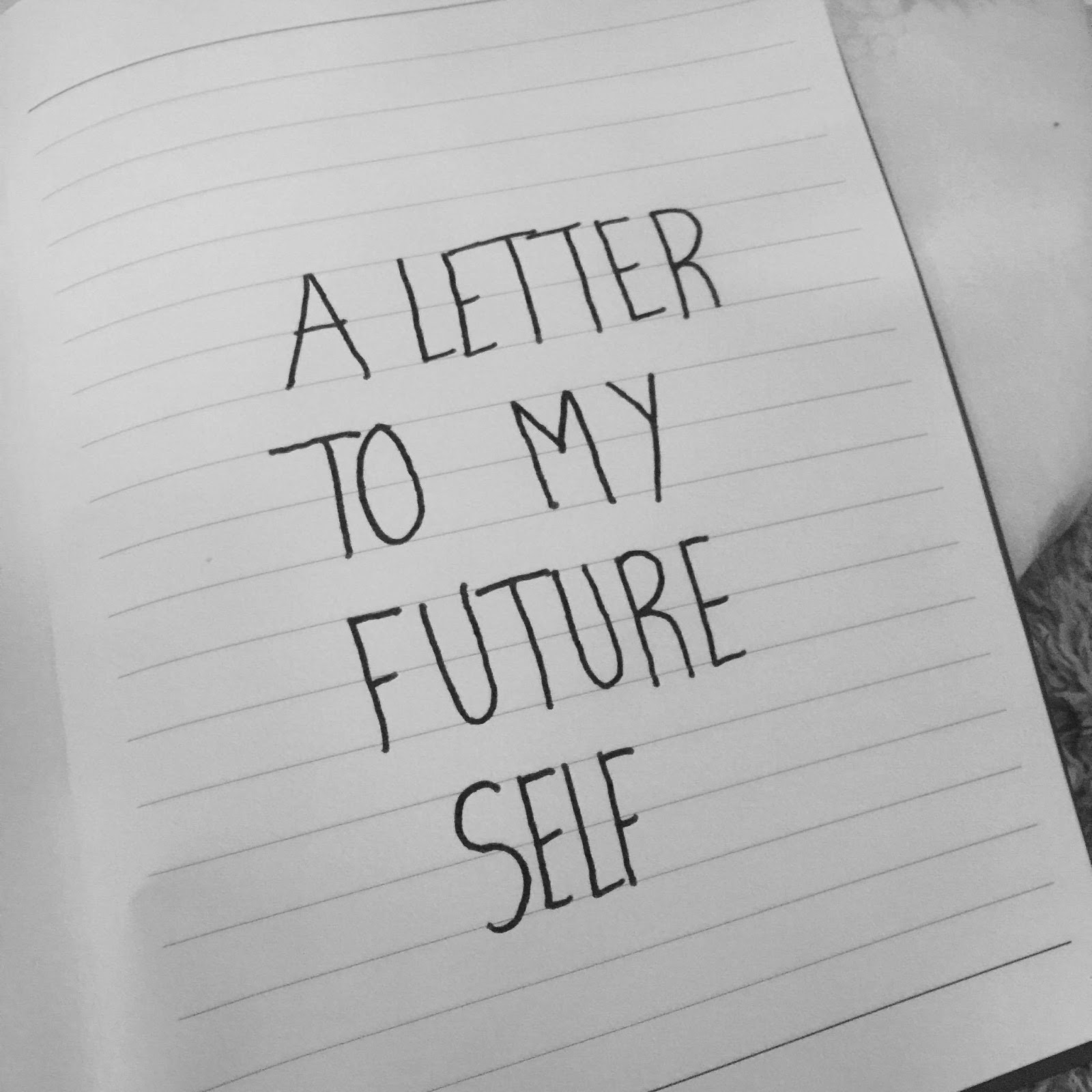 a letter to my future self considering i have done one for my younger self which you can read here so the title says it all this is my letter to my