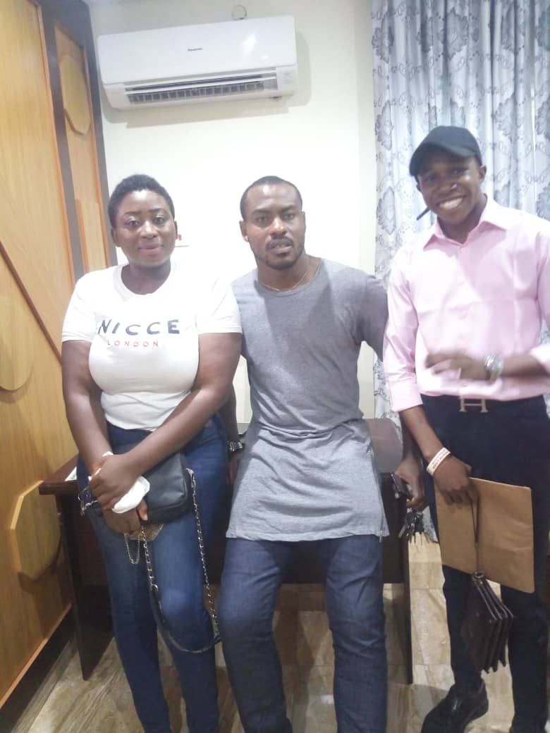 "The CEO and the Organizing Crew of Ankara Fashionista Nigeria, Visited The Nigeria's Famous and Veteran Footballer and Goalkeeper, ""VINCENT ENYEAMA"" of the Super Eagles Of Nigeria, Today Monday 21th of Oct, 2019.."