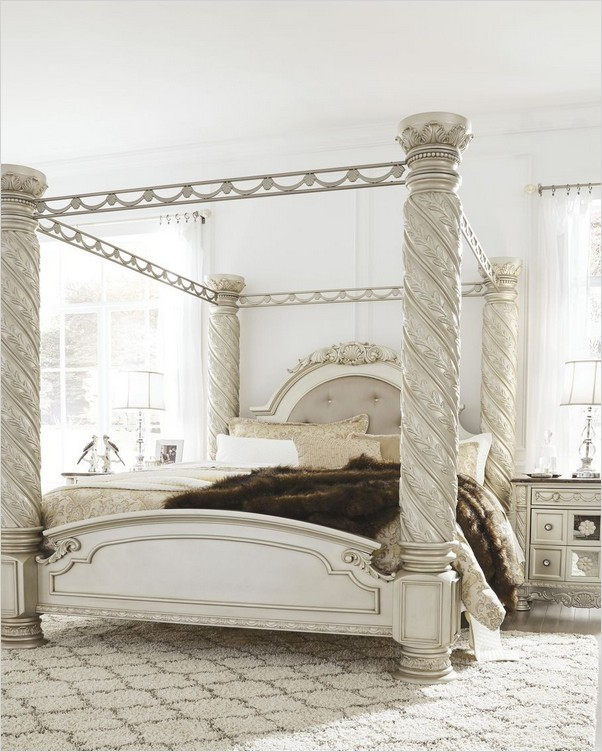 King Size Canopy Bedroom Sets Home Interior Exterior Decor Design Ideas