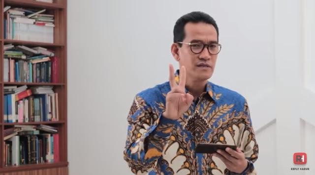 Refly Harun: RUU HIP Tak Berguna, Makin Tegaskan Pancasila Milik Penguasa