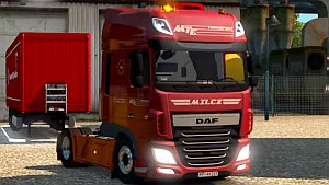 DAF Euro 6 Super Space