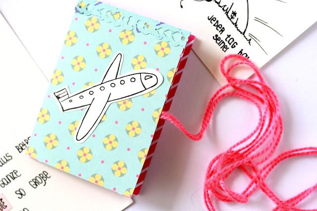 DIY Geschenk - Geschenkbuch falten