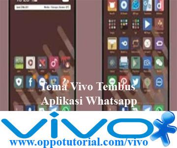 Tema Vivo Tembus Aplikasi Whatsapp