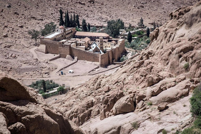 ISIS targets St. Catherine's Monastery in Sinai, Egypt