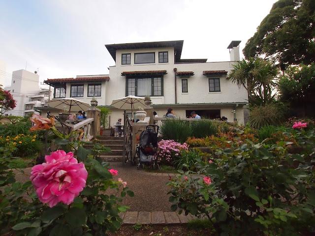 横浜 港の見える丘公園 山手111番館 ローズガーデン