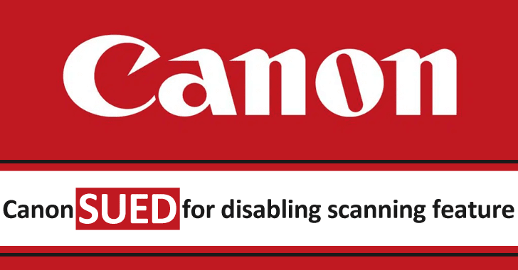 Canon Sued for Disable The Scanning Feature When Printers Run Out of Ink