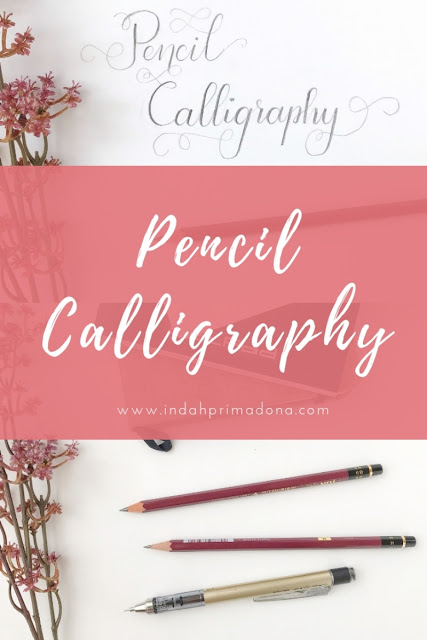 pencil calligraphy, calligraphy with pencil, pencil lettering tutorial, belajar pensil calligraphy, pensil calligraphy, pensil calligraphy untuk pemula