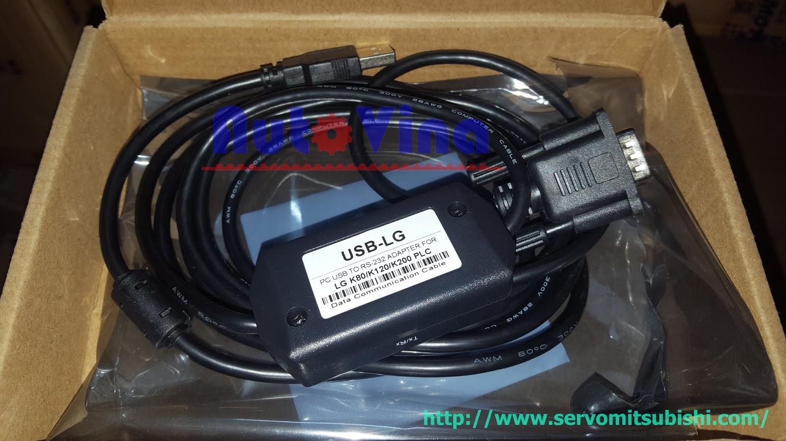 USB-LG cable PLC LG Master K80, K120, K200