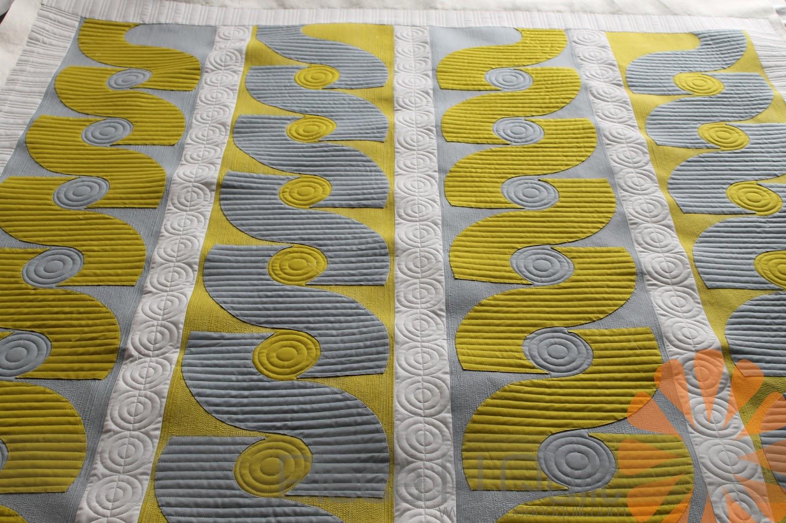 Piece N Quilt: Custom Machine Quilting a Modern Quilt - by ... - photo#15