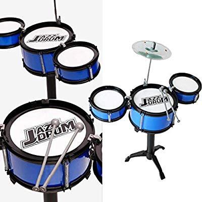 Drum Set Children Percussioni Strumenti Musicali