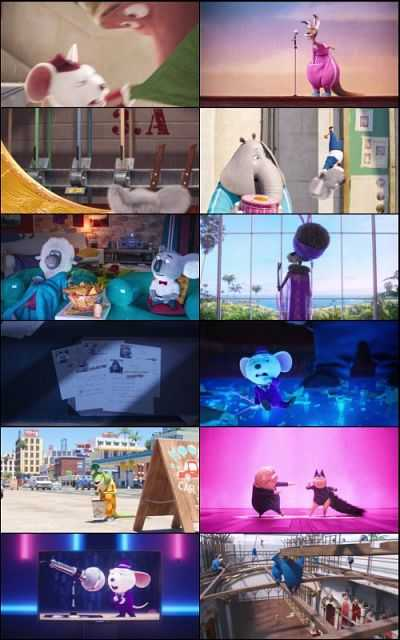 Sing (2016) Hindi - English 720p HD Download 1GB