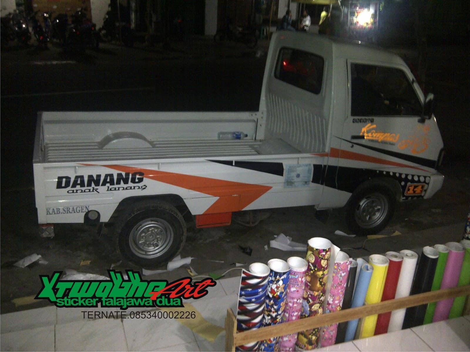 Top Cutting Sticker Mobil Pick Up Carry Terbaru | Modifotto
