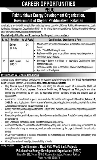 pakhtunkhwa-energy-development-organization-pedo-jobs-2021-application-form