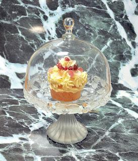 Orangen Cupcake