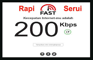 Cek Speed Test Internet Indihome Serui