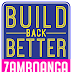 Build Back Better Zamboanga Logo Design