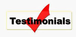 Testimonial Pelanggan Jasa SEO Blog