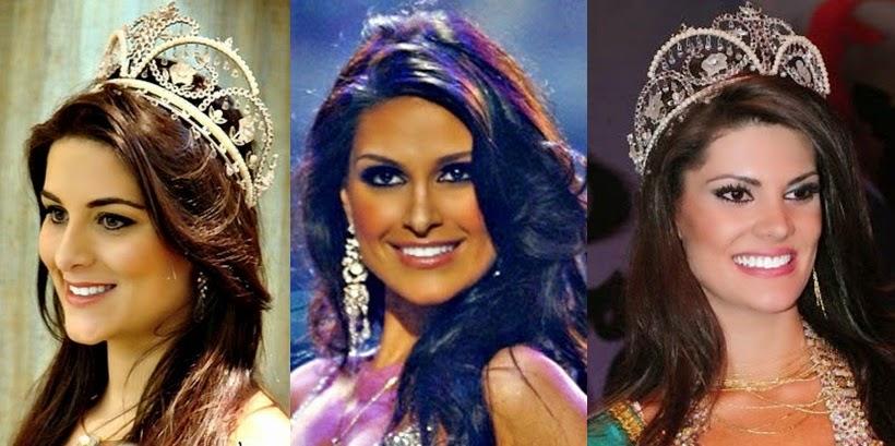 Misses Universo Brasil 2006,2007 e 2008