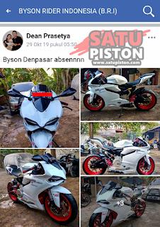 Modifikasi Yamaha Byson Ala Ducati Panigale