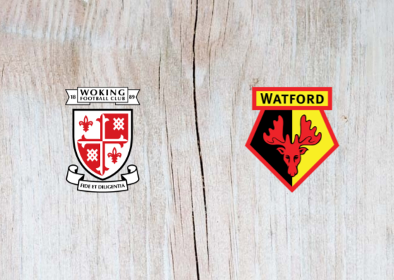 Woking vs Watford - Highlights 6 January 2019