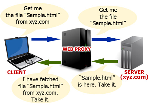 Working of Web Proxy