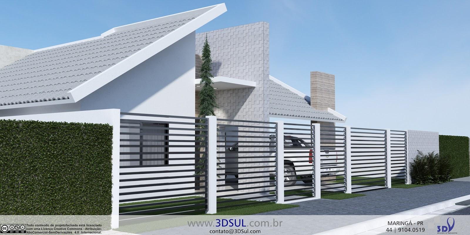 3dsul maquete eletr nica 3d projeto 3d casa telhado a for Casa moderna 2015 orari