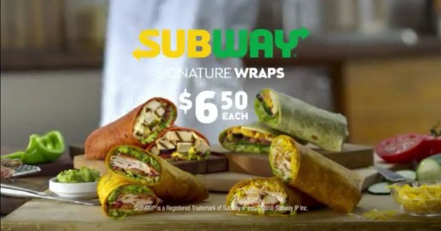 "Subway Testing New ""Signature Wraps"" with Flavored Tortillas 