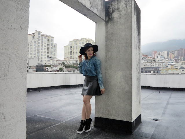 http://www.tastemycloset.com/2016/04/leather-skirt-hat.html