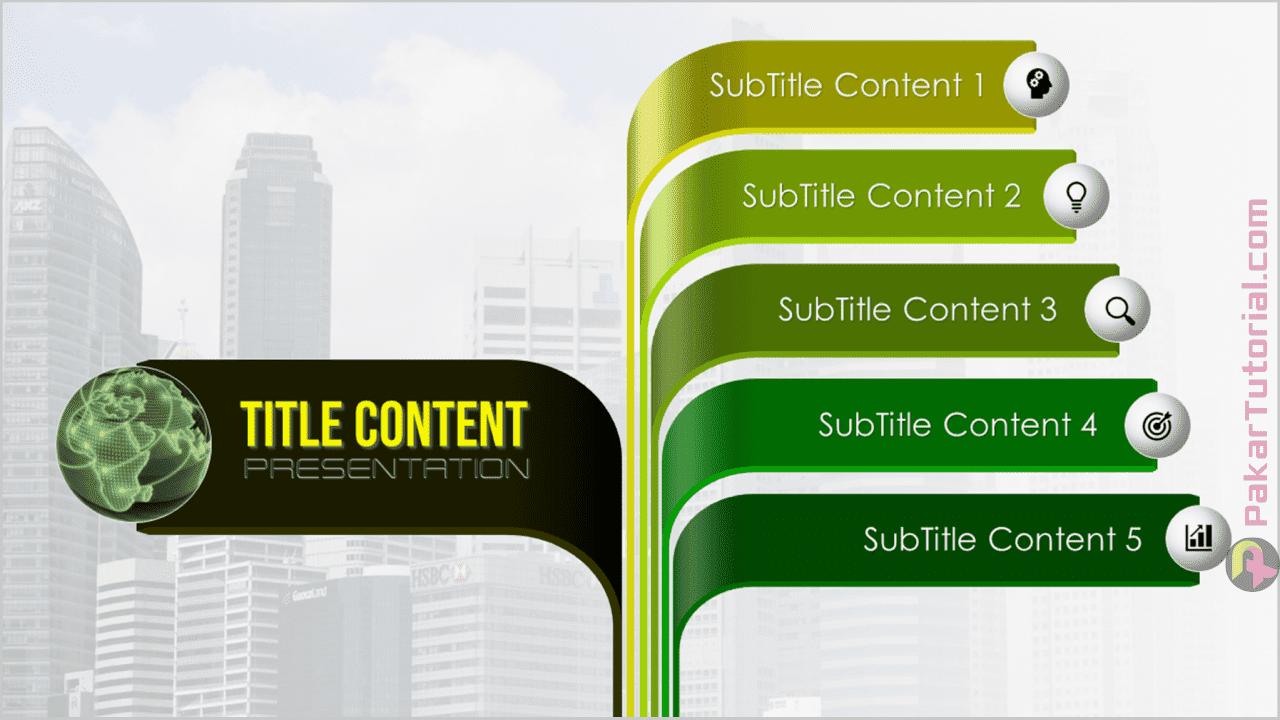 Slide Presentasi PowerPoint