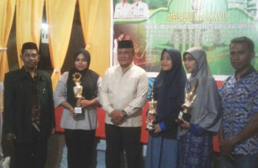 MTQ Bontoharu 2018 Berakhir, Kafilah Kel.Bontobangun, Juara Umum