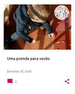 Primeiro ebook do blog com atividades para crianças