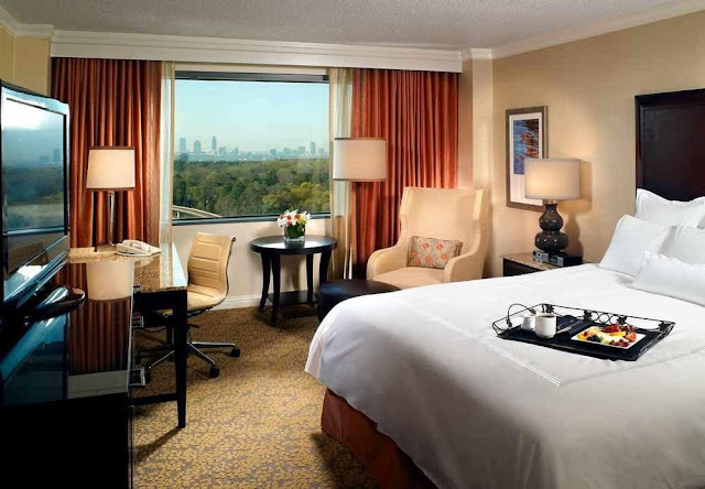 Choose JW Marriott Atlanta Buckhead for a remarkable stay. This luxury hotel boasts upscale amenities and superb services in a prime area for work and play.