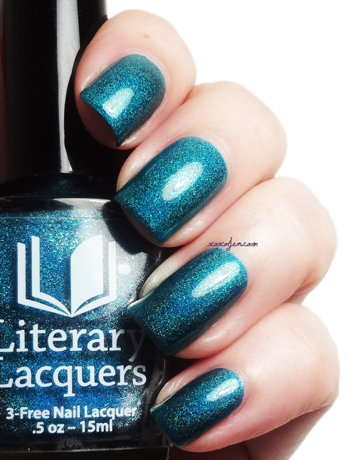 xoxoJen's swatch of Literary Lacquers Salt and Sweetness