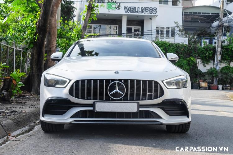 Cận cảnh Mercedes-AMG GT 53 4Matic+ 4-Door hơn 6 tỷ tại Việt Nam