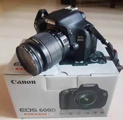 Canon EOS Seri 600D