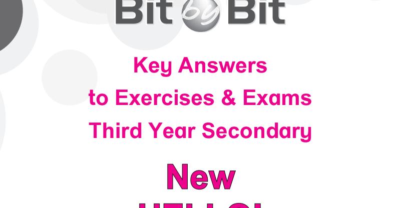 اجابات كتاب بت باى بت Bit By Bit فى اللغة الانجليزية للصف