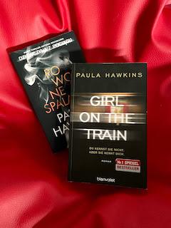 """""""Dziewczyna z pociągu"""" będzie jedyną książką tej autorki, którą zachowam... """"Powolne spalanie"""" Paula Hawkins, fot. paratexterka ©"""