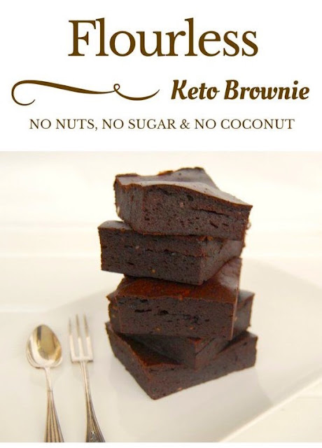 Nut Free Keto Brownie Recipe