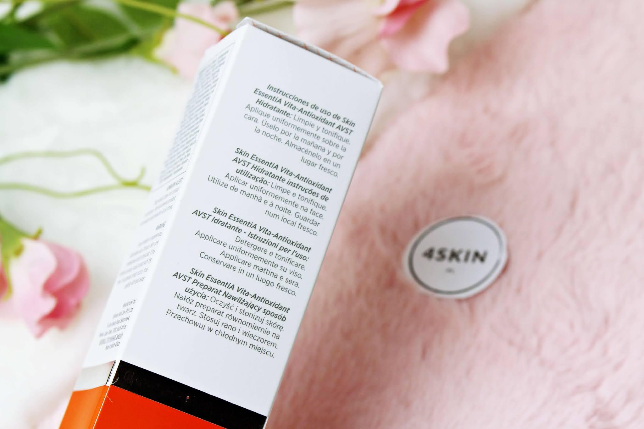 Krem nawilżający z witaminą A Environ Avst 1 Skin EssentiA