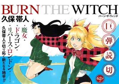 "Manga: ""Burn the Witch"" el próximo One-Shot de Tite Kubo"