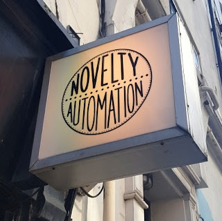 The Novelty Automation amusement arcade in London
